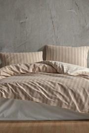 Simple beige ágyneműhuzat