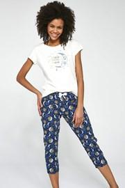 To the Moon női pizsama szett, 3-részes