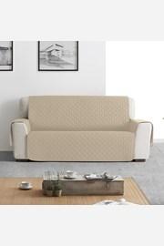 Moorea kétszemélyes kanapé takaró, bézs