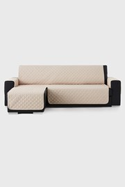 Moorea bútorhuzat sarokkanapéra, bézs - bal oldali