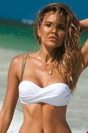 Greace white bikinifelső