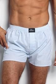 Elka LOUNGE férfi alsónadrág kék-fehér csíkos mintával