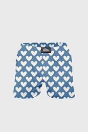Kék alsónadrág szívecske mintás, ELKA LOUNGE
