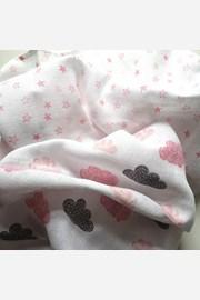 Gyermek pelenka ajándékszettben, rózsaszín