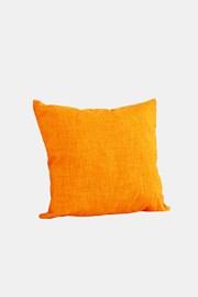 Dekorációs kispárna, narancssárga