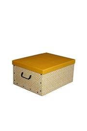 Nordic összecsukható tárolódoboz, sárga