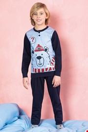 Bear kék fiú pizsama