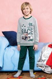 Race zöld fiú pizsama