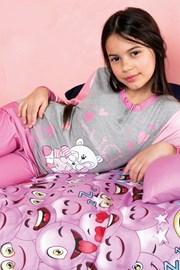 Biongiorno lányka pizsama, rózsaszín