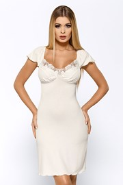 Salomea Ecru luxus hálóing