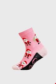 Lányka karácsonyi zokni