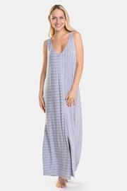 DKNY Grey Stripe női hálóing