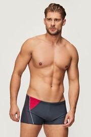 Szürke boxer szabású úszónadrág Yachting Red