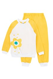 Flower Yellow lányka pizsama
