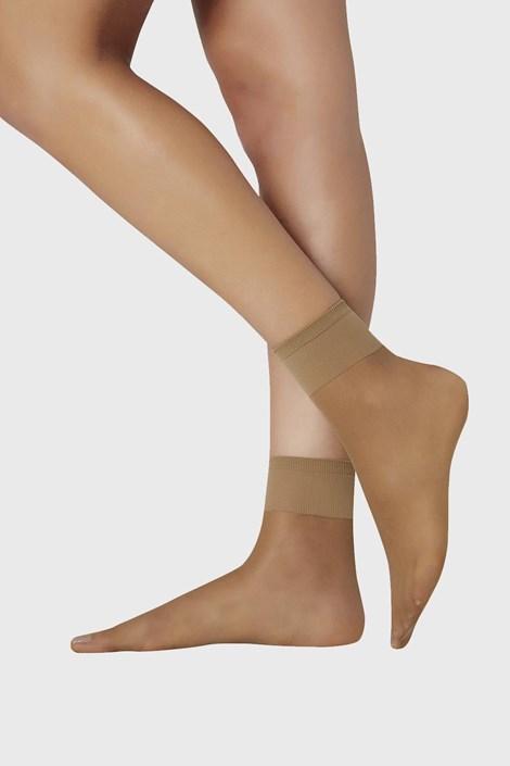 2 PÁR női szilon zokni, 15 DEN