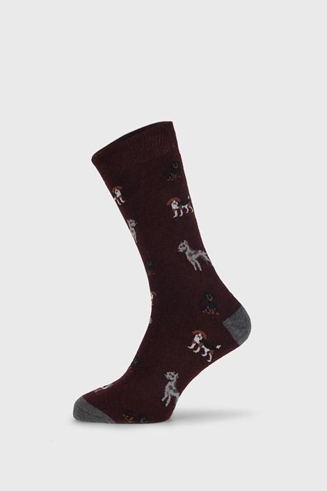 Bordó zokni Fantasy