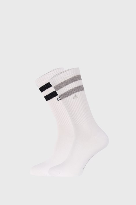2 PÁR fehér zokni Calvin Klein Maurice