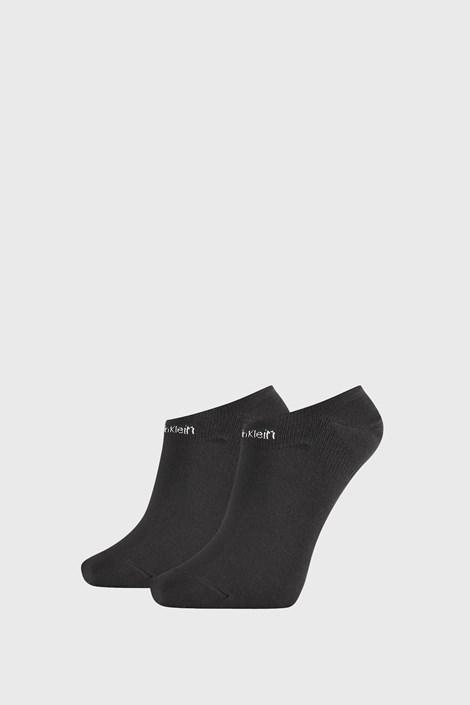 2 DB Calvin Klein Leanne fekete női zokni