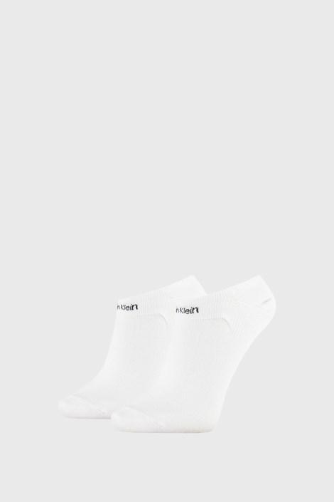 2 PÁR Calvin Klein Leanne fehér női zokni