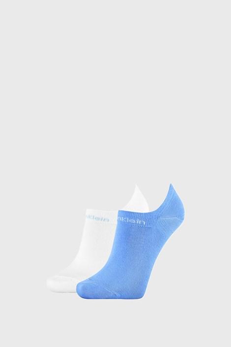 2 PÁR Calvin Klein Leanne női zokni, kék és fehér