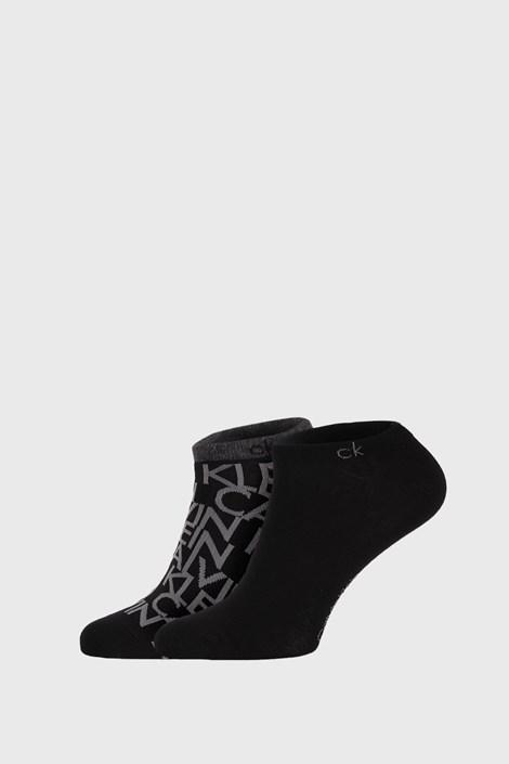 2 PÁR fekete zokni Calvin Klein Deangelo
