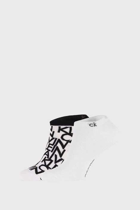 2 PÁR fehér zokni Calvin Klein Deangelo