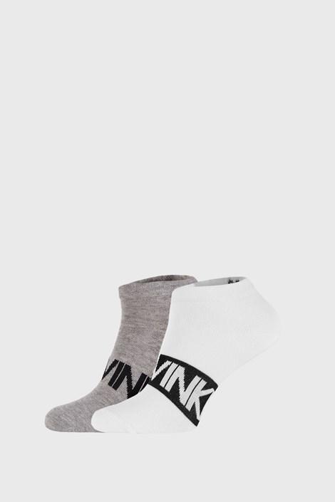 2 PÁR szürke-fehér zokni Calvin Klein Dirk
