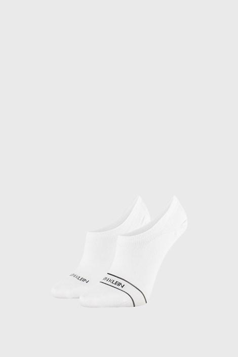 2 PÁR fehér női zokni Calvin Klein Alice