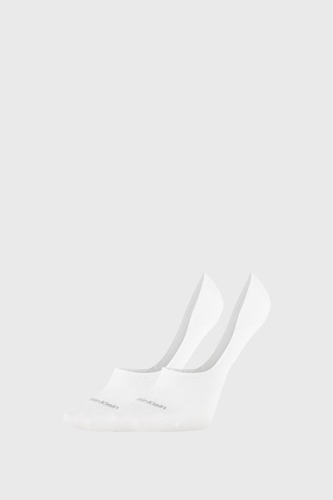 2 PÁR Calvin Klein Jessica fehér női zokni