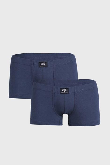 2 DB kék boxeralsó Manny