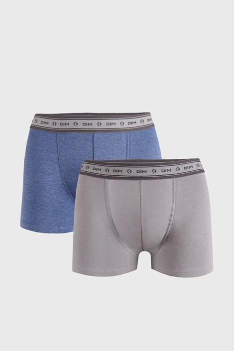 2 DB szürke-kék boxeralsó DIM Ecosmart