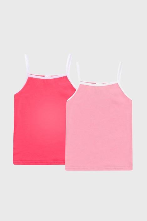 2 DB lányka basic atléta, rózsaszín