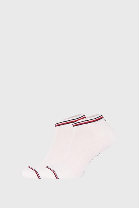 2 PÁR fehér zokni Tommy Hilfiger Iconic Sneaker
