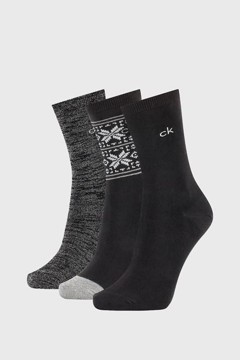 3 PÁR Calvin Klein Isla női zokni
