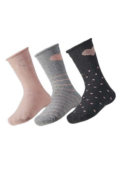 Love meleg gyerek zokni, 3 pár 1 csomagban