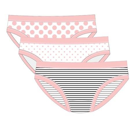 3 DB Pink Line lányka alsó