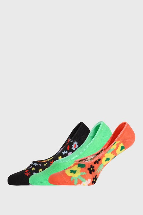 3 PÁR Happy Socks Flower zokni
