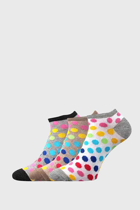 3 PÁR Piki 65 női zokni