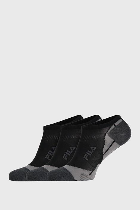 3 Pár fekete zokni FILA INVISIBLE
