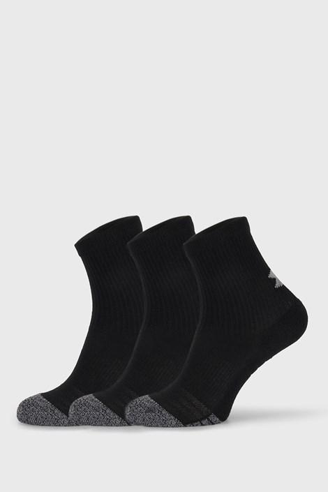 3 PÁR fekete zokni Under Armour Crew