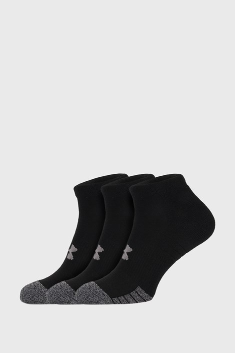 3 PÁR fekete zokni Under Armour Locut