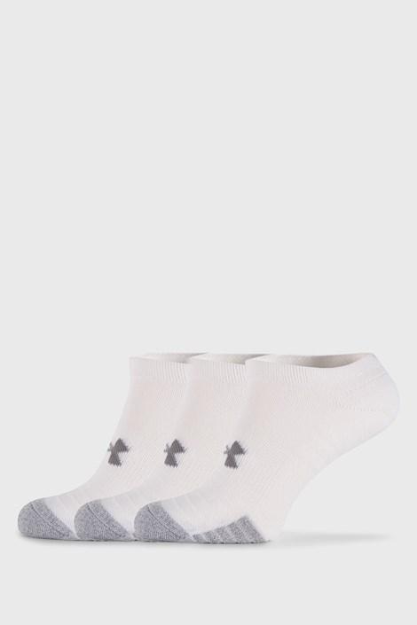 3 PÁR fehér zokni Under Armour
