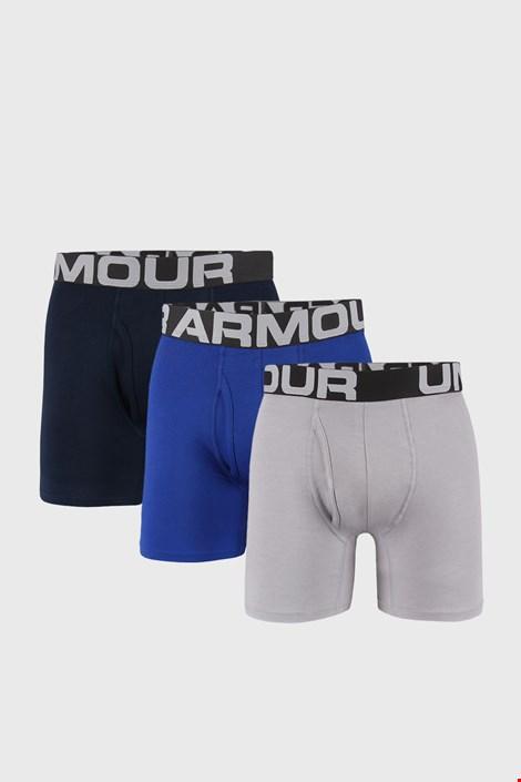 3 DB kékes-szürke boxeralsó Under Armour Cotton