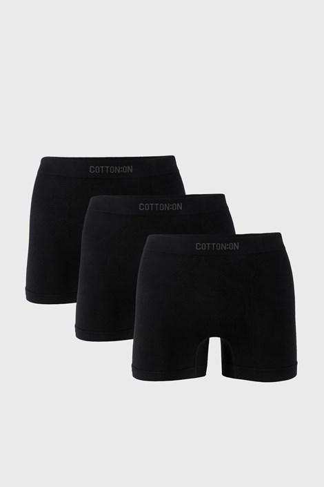 3 DB fekete boxeralsó Trunk