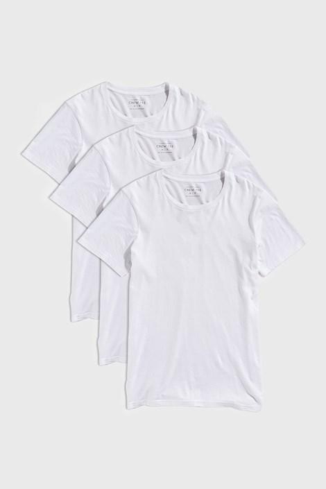 3 DB fehér póló Austin