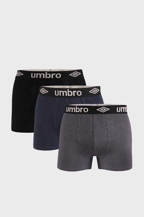 3 DB boxeralsó Umbro Organic cotton