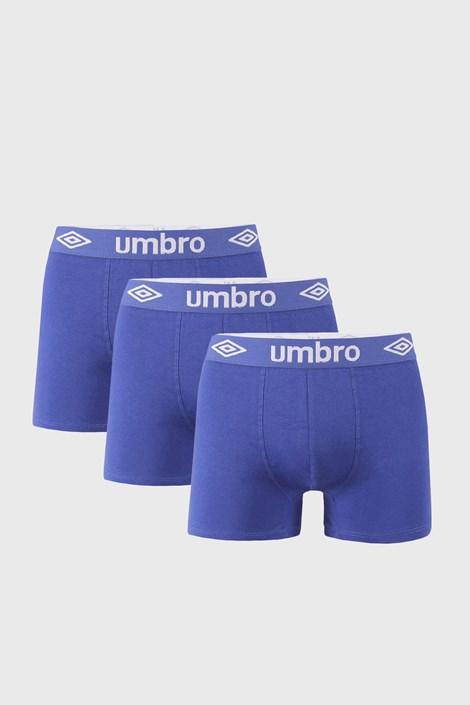 3 DB kék férfi boxeralsó Umbro BIO