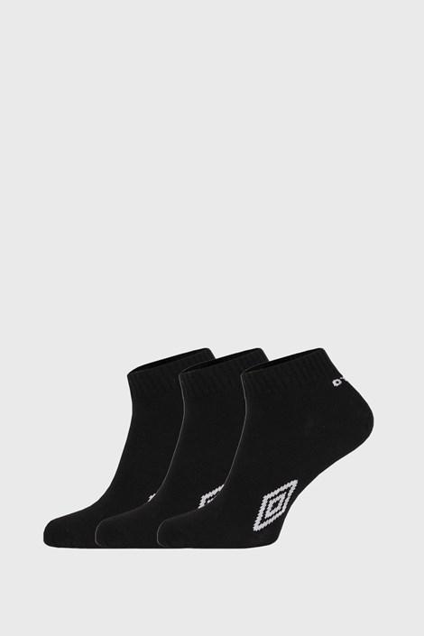 3 PÁR fekete boka zokni Umbro