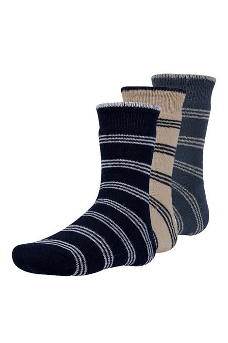 Rakr meleg gyerek zokni, 3 pár 1 csomagban