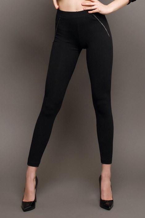 Fekete női leggings